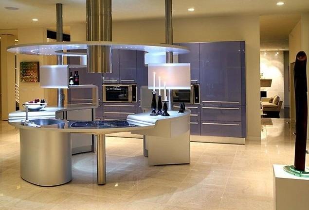 Модные тенденции дизайна кухни Современный дизайн кухни