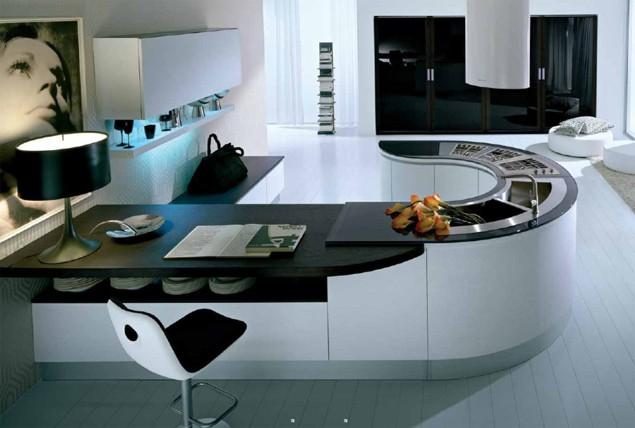 Высокотехнологичные элементы кухонного декора