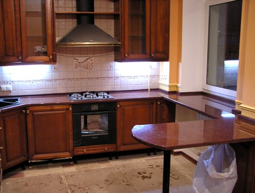Кухонный подоконник столешница
