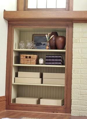 Угловые шкафы из гипсокартона своими руками
