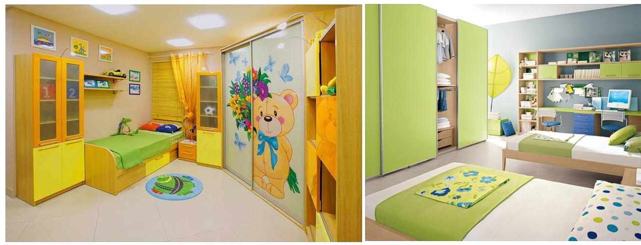 Встроенные детские комнаты фото