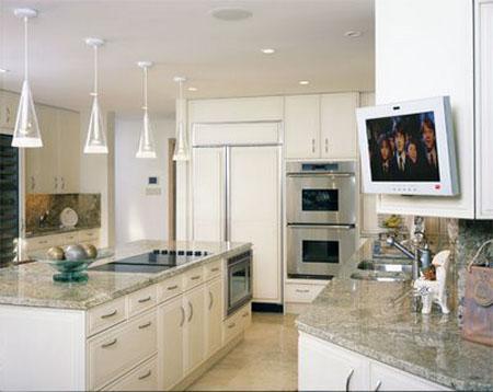 Телевизор на кухню дизайн