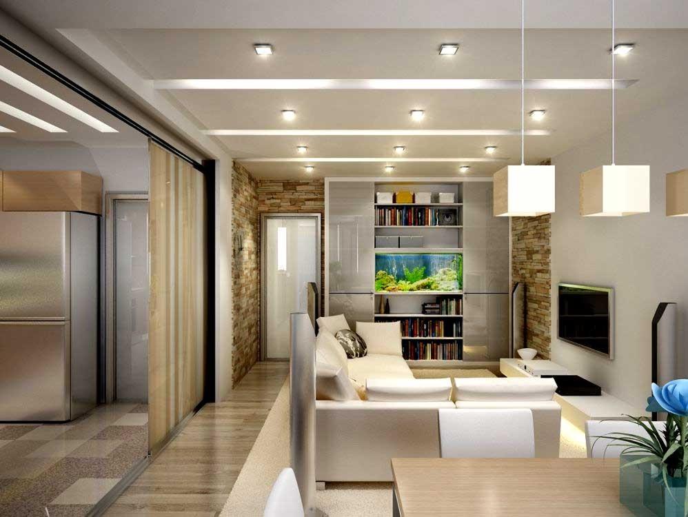 Дизайн для маленькой квартиры студии фото