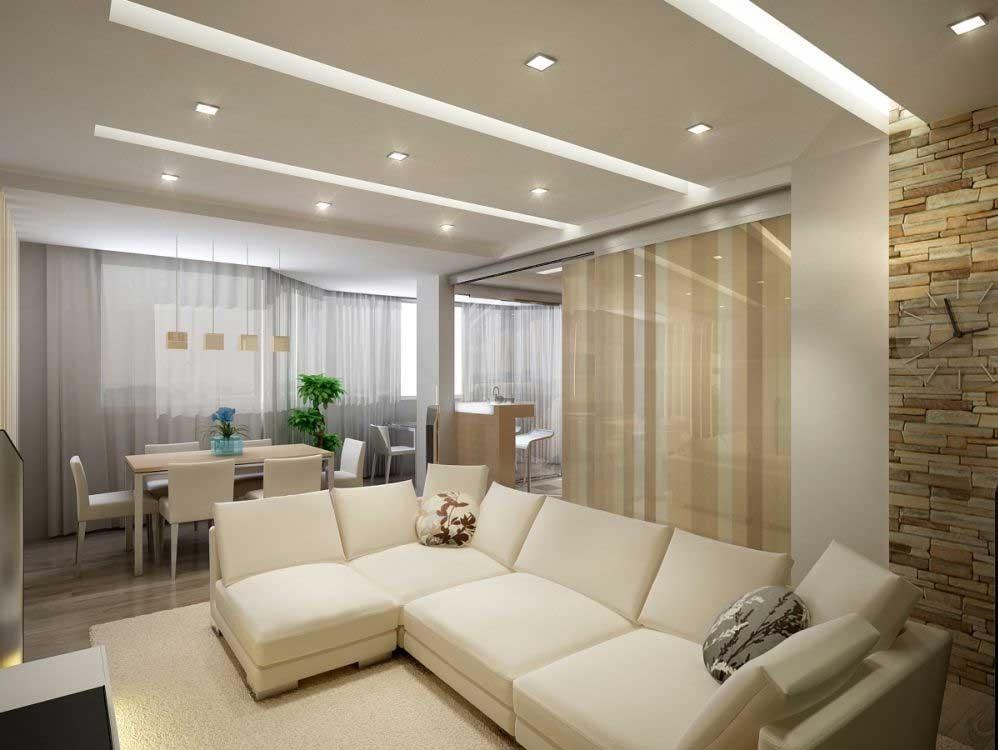 Дизайн однокомнатной квартиры южный